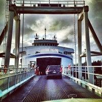 Photo taken at Sturdies Bay Ferry Terminal by kris k. on 3/21/2014