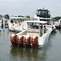 Photo taken at Cedar Point Marina by Jason P. on 8/24/2014