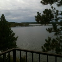 Photo taken at Madden's Resort on Gull Lake by Robin B. on 9/18/2012