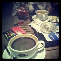 Photo taken at Caffè Nero by Hilal D. on 10/29/2012