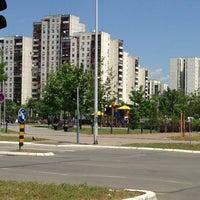 Photo taken at Park u bloku 62 by Sonja M. on 5/18/2013