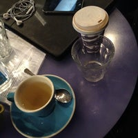 Photo taken at Luxe Espresso by Theo D. on 9/4/2014