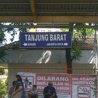 Photo taken at Stasiun Tanjung Barat by Wishnu F. on 6/2/2013