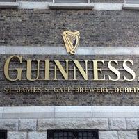Photo taken at Guinness Storehouse by Alexander K. on 12/9/2012