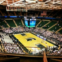 Photo taken at Breslin Center by Amanda C. on 2/7/2013