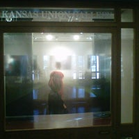 Photo taken at Kansas Union Gallery by Beatrice on 2/11/2012