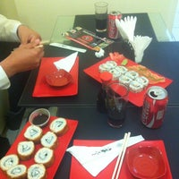 Photo taken at Matsumoto Sushi by Cristian A. on 10/31/2012
