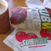 Photo taken at SUBWAY by Muhamad Arif O. on 10/21/2012