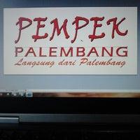 Photo taken at Pempek Palembang KAPAL TERBANG® by U-d1th'S on 2/15/2013