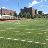 Photo taken at Hotchkiss Field by Russell G. on 7/6/2013