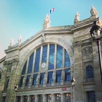Photo taken at Gare SNCF de Paris Nord by Hélène M. on 4/19/2013