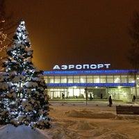 Photo taken at Bolshoye Savino International Airport (PEE) by Katya S. on 1/4/2013