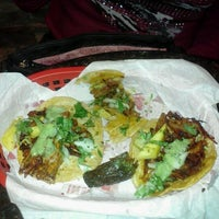 Photo taken at Los Tacos by Laura L. on 11/6/2012