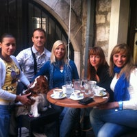 Photo taken at Caffe Bar Volta by Maja R. on 10/7/2012