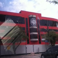 Photo taken at Arena da Baixada by Amanda J. on 10/28/2012