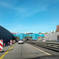 Photo taken at Elbtunnel by Sergej I. on 10/8/2012