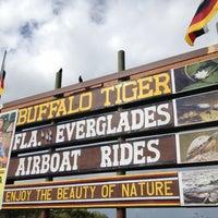 Photo taken at Buffalo Tiger's Airboat Rides by Kongpon K. on 10/14/2012