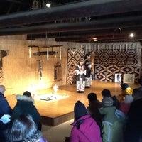 Photo taken at アイヌ民族博物館 by Brandon on 2/4/2013