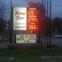 Photo taken at Kwik Trip by Scott B. on 10/17/2014
