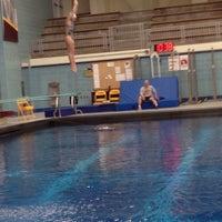 Photo taken at University Aquatic Center by B F. on 7/9/2015