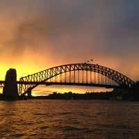 Photo taken at Sydney Harbour Bridge by Shunsuke Y. on 6/14/2013