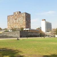 Photo taken at Universidad Nacional Autonoma de Mexico by Alice on 1/17/2013