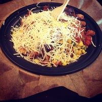 Photo taken at QDOBA Mexican Eats by Kevin F. on 12/14/2012
