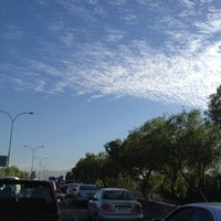 Photo taken at Autopista Central by Romina S. on 12/14/2012
