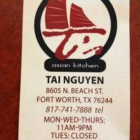 Photo taken at T's Asian Kitchen by John V. on 12/30/2012