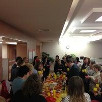 Photo taken at Банк «Санкт-Петербург» by Alina🍓 S. on 12/29/2012