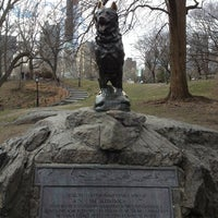 Photo taken at Balto Statue by Filippo U. on 3/27/2013