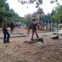 Photo taken at Cowen Park by Kristin B. on 10/19/2013