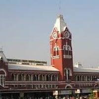 Photo taken at Chennai Central Sub Urban Station by Shiva S. on 3/6/2013