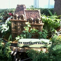 Photo taken at Enid A. Haupt Conservatory by Mas P. on 12/14/2012