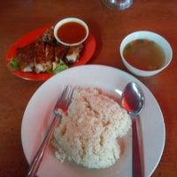 Photo taken at CT Nasi Ayam Garing Mancongkam by Isman on 11/29/2012