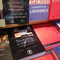 Photo taken at Livraria Saraiva by Eduardo S. on 5/10/2013