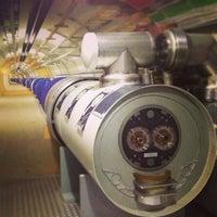 Photo taken at Large Hadron Collider (LHC) by Nikolas M. on 8/12/2013