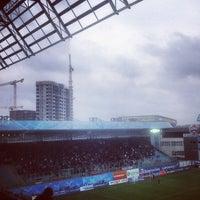 Photo taken at Arena Khimki by Анна С. on 5/4/2013
