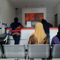 Photo taken at Bank BRI cab Cangkuang by Agus S. on 3/25/2014