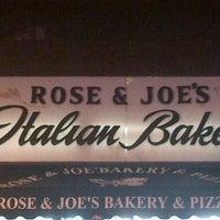 Photo taken at Rose & Joe's Italian Bakery by Cecilia on 10/9/2012