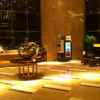 Photo taken at Sheraton Guangzhou Hotel 广州喜来登酒店 by Jiao Y. on 10/12/2012