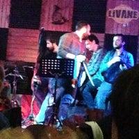Photo taken at Livane Pub by Simge M. on 2/22/2013