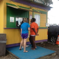 Photo taken at Mista Macks Snoball Shack by Brittany S. on 6/30/2013