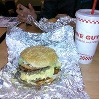 Photo taken at Five Guys by Jaime S. on 12/17/2012