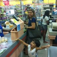 Photo taken at Mateus Supermercado by José Henrique C. on 10/17/2012