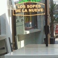 Photo taken at Los Sopes de la nueve by Laura S. on 1/6/2013