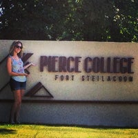 Photo taken at Pierce College by Diana on 8/16/2013