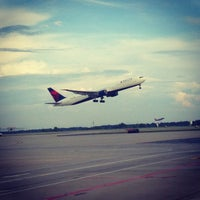 Photo taken at Hartsfield-Jackson Atlanta International Airport (ATL) by Ryan H. on 6/19/2013