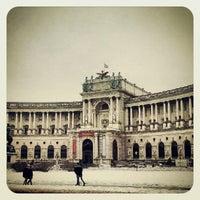Photo taken at Österreichische Nationalbibliothek by banu c. on 2/26/2013