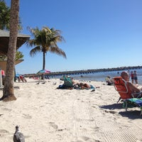 Photo taken at Cape Coral Beach at Yacht Club Community Park by Vita Marie 🌴👙☀️ on 2/2/2013